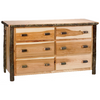 Whistler Six Drawer Dresser Traditional Hickory