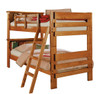 Boone Twin over Twin Bookcase Bunk Bed Windsor