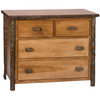 Whistler Four Drawer Low Boy Traditional Hickory