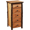 Whistler Storage Chest Traditional Hickory
