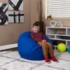 Royal Blue Bean Bag Chairs for Kids with Kid Room