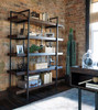 Great Northern Bookcase Walnut in room