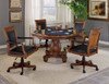 Banfield Game Table shown with Optional Banfield Game Chairs