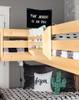 Lingo Natural Magazine Rack Room