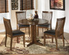 Gomez Set of 2 Dining Chairs shown with Optional Table
