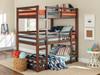 Eldon Walnut Twin 3 Bed Bunk Bed in room 2