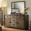Hicks Mirror shown with Optional Dresser Room