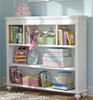 Daphne White Girls Bookshelf Hutch Room