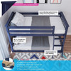 Brody Blue Low Bunk Beds for Kids Top View & Information