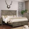 Halloway Panel Bed Grey lifestyle