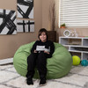 Green Bean Bag Chairs for Teens with Teen Room