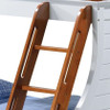 Norton Ship Wheel Twin over Full Bunk Bed ladder detail