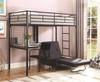 Hale Habitat Loft Bed with Futon