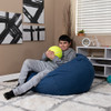 Denim Bean Bag Chairs for Teens with Teen Room