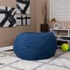 Denim Bean Bag Chairs for Teens Room