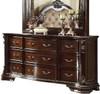 Newport Nine Drawer Dresser Dark Walnut