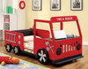 Rescuer Fire Truck Bed front view