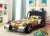 Speedway Race Car Bed twin in room