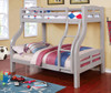 Dunbar Gray Twin over Full Bunk Bed lifestyle