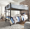 Element Metal Twin over Twin Bunk Beds for Kids lifestyle