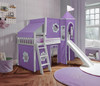 Bonnie White Castle Bed