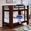 Centennial Twin over Twin Bunk Beds espresso finish in room