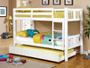 Dorothy Bunk Beds twin size with storage trundle with mattress