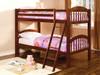 Waterloo Cherry Low Bunk Beds Room