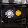 Black Hawk Car Bed Headlight Detail