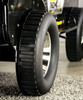 Black Hawk Car Bed Front Tire Detail