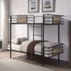 Hurst Metal Twin Bunk Beds Room