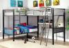 Loren Twin Triple L Shaped Loft Bunk Beds Room