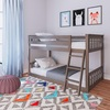 Chilton Brushed Clay Low Bunk Beds for Kids Room