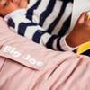 Big Joe Medium Fuf Bean Bag Desert Rose Fabric Detail