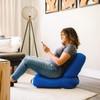 Big Joe Grab & Go Bean Bag Chairs with Adult Coastal Blue Room