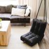 Big Joe Grab & Go Bean Bag Chairs Open Black Room