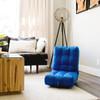 Big Joe Grab & Go Bean Bag Chairs Open Coastal Blue Room
