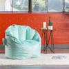 Plush Big Joe Milano Bean Bag Chair Mint Room