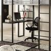 Diesel Metal Loft Bed with Desk full size desk detail
