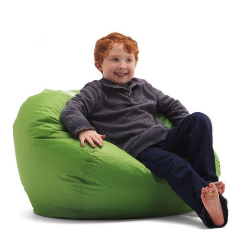 Spicy Lime Bean Bag Chair for Kids