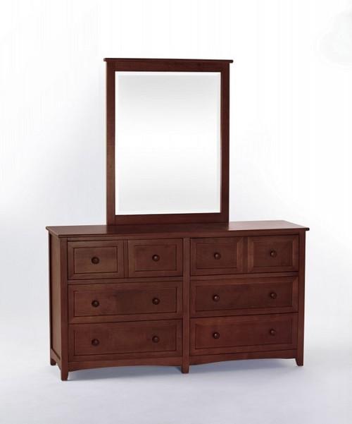 Craftsman 6 Drawer Dresser Cherry