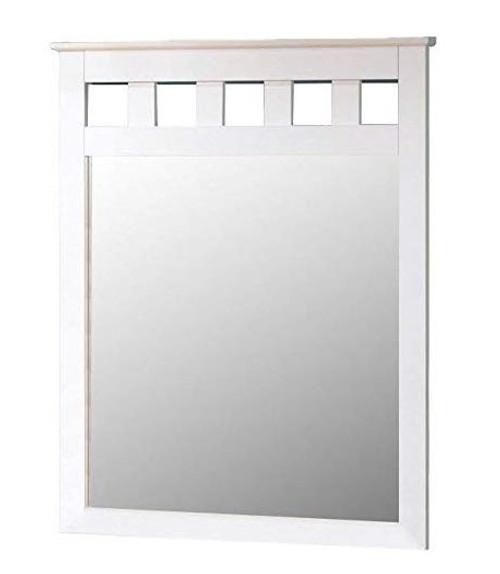 Milan Large White Mirror