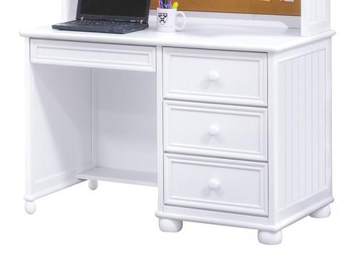 Beatrice White Computer Desk