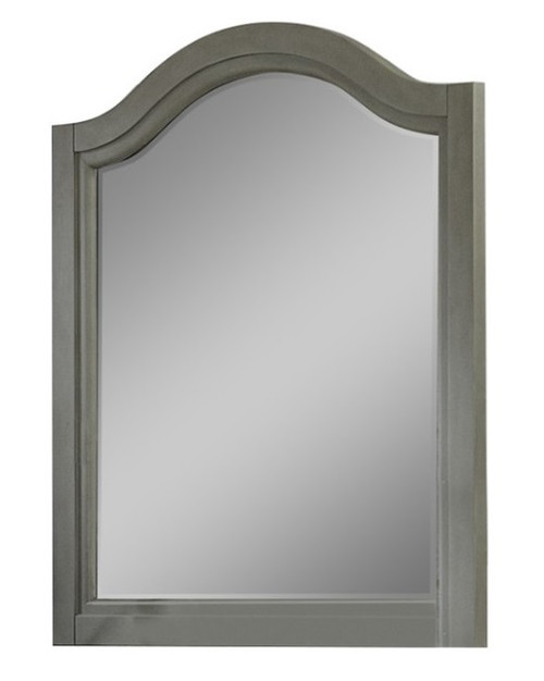 Boardwalk Stone Gray Arch Mirror