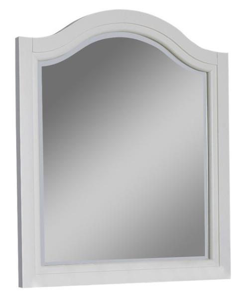 Park Place White Arch Mirror