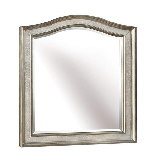 Belle Maison Vanity Mirror Metallic Platinum
