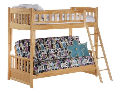 Bailey Natural Futon Bunk Bed