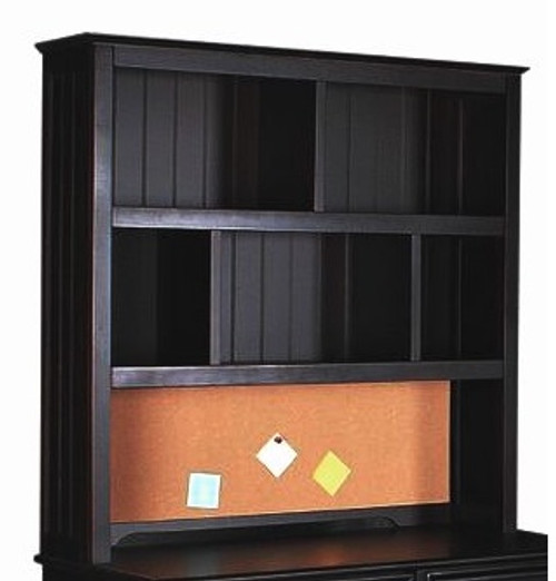 Eberhardt Black Desk Hutch
