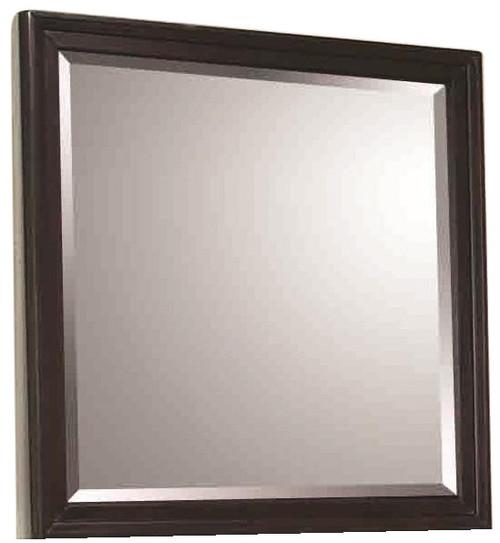 Wheeler Mirror Black