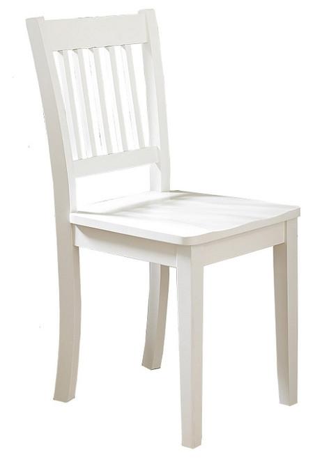 Park Place White Vanity Desk Chair